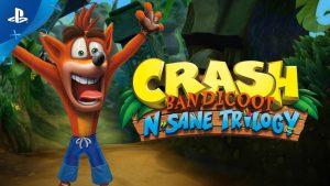 Testissä: Crash Bandicoot N. Sane Trilogy [PS4]