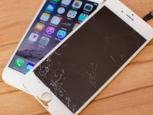 Hajosiko iPhone puhelimesi?
