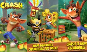 Crash Bandicoot tulossa myös mobiilina